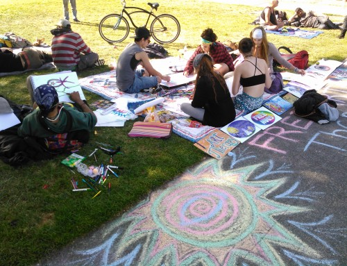 Art Circle In The Springtime 2015!